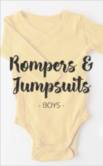 Rompers & Jumpsuits - Boys